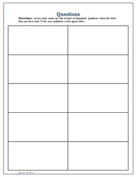 Guided Reading Novel Unit Packet with Strategies and Activities