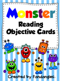 Guided Reading Objective Cards Freebie
