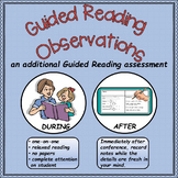 Guided Reading Observations: An Additional Guided Reading Assessment Tool
