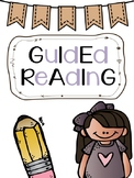 Guided Reading Organization Binder