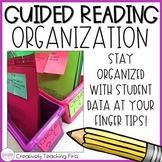 Guided Reading Data Organization EDITABLE
