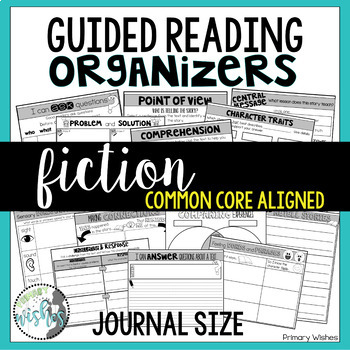 Guided Reading Comprehension Organizers - Fiction