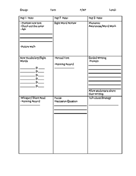 Guided Reading Outline