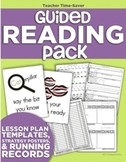 Guided Reading Pack (Lesson Plans, Strategy Posters & Running Records)