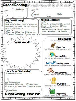 Guided Reading Package