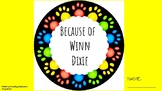 Guided Reading Packet for Students - Because of Winn Dixie