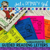 Guided Reading Letters for parents