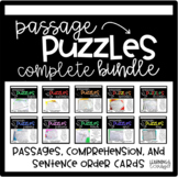 Guided Reading Passage Puzzles- BUNDLED Cloze Reading