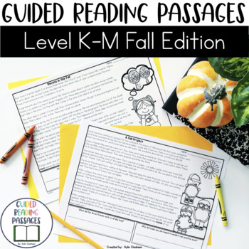 Guided Reading Passages: Fall Edition {Level K-M}