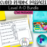 Guided Reading Passages Bundle: Level A-D