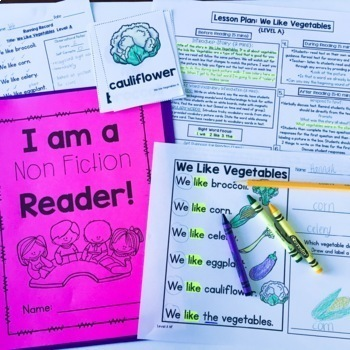 Guided Reading Passages Bundle: Level A-D (Fiction and Non Fiction Editions)