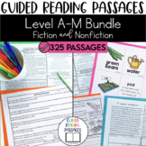 Guided Reading Passages Bundle: Level A-M (Fiction and Non Fiction Editions)