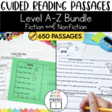 Guided Reading Passages Bundle: Level A-Z (Fiction and Non Fiction)