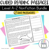 Guided Reading Passages Bundle: Level A-Z (Non Fiction)