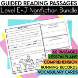 Guided Reading Passages Bundle: Level E-J (Non Fiction)