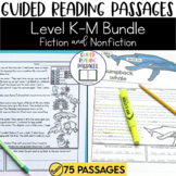 Guided Reading Passages Bundle: Level K-M (Fiction and Non