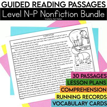 Guided Reading Passages Bundle: Level N-P (Non Fiction)