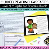 Guided Reading Passages Bundle: Level N-V {Digital and Reg