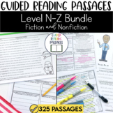 Guided Reading Passages Bundle: Level N-Z (Fiction and Non