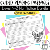 Guided Reading Passages Bundle: Level N-Z (Non Fiction)