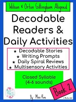 Decodable Phonics Stories & Activities Short Vowels - Orton Gillingham aligned
