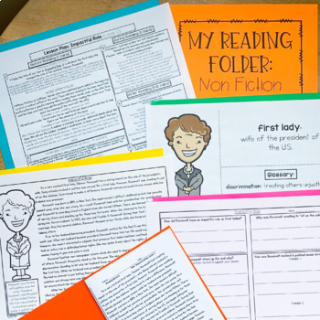 Guided Reading Passages GROWING Bundle: Level A-V (Fiction and Non Fiction)