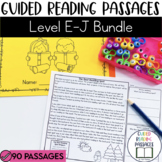 Guided Reading Passages Bundle: Level E-J