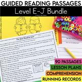 Guided Reading Passages Bundle: Level E-J