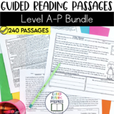 Guided Reading Passages Giant Bundle: Level A-P