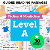 Guided Reading Passages | Level A