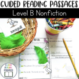 Guided Reading Passages: Level B (Non Fiction)
