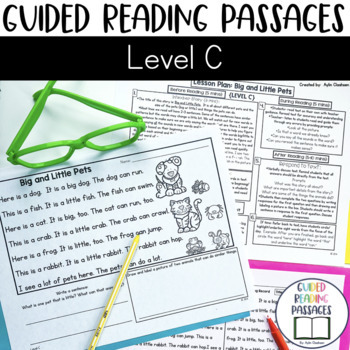 Guided Reading Passages: Level C