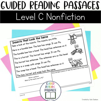 Guided Reading Passages: Level C (Non Fiction)