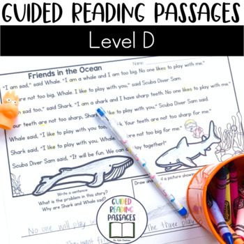 Guided Reading Passages: Level D