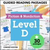 Guided Reading Passages   Level D