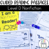 Guided Reading Passages: Level D (Non Fiction)