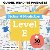 Guided Reading Passages   Level E
