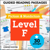 Guided Reading Passages   Level F