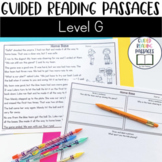 Guided Reading Passages: Level G