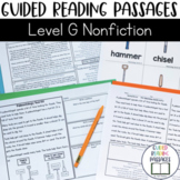 Guided Reading Passages: Level G (Non Fiction)