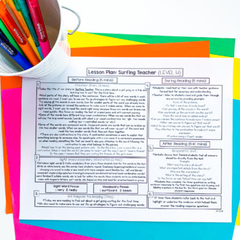 Guided Reading Passages: Level H