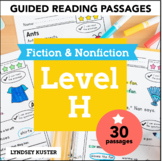 Guided Reading Passages   Level H