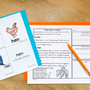 Guided Reading Passages: Level H (Non Fiction)