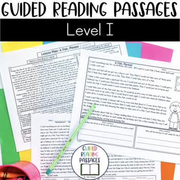 Guided Reading Passages: Level I