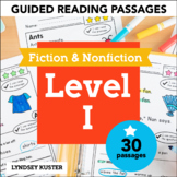 Guided Reading Passages - Level I