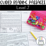 Guided Reading Passages: Level J