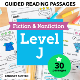 Guided Reading Passages - Level J