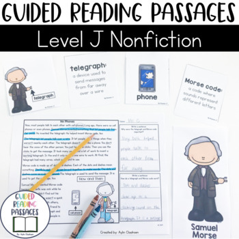 Guided Reading Passages: Level J (Non Fiction)