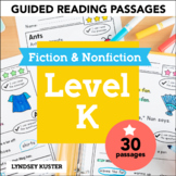 Guided Reading Passages - Level K