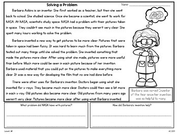 Guided Reading Passages: Level L (Non Fiction)